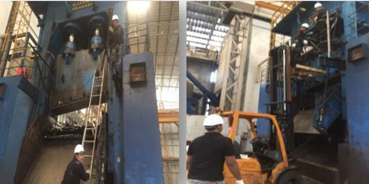 Steel Cutting Maintenance